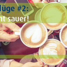 Kaffee macht sauer?