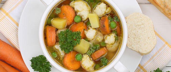 Header basische Gemüsesuppe