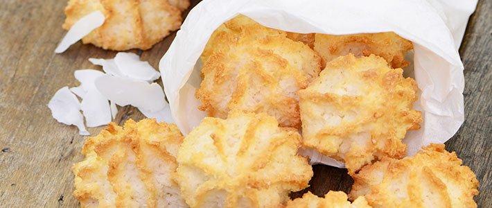 Sesam-Kokos-Kekse